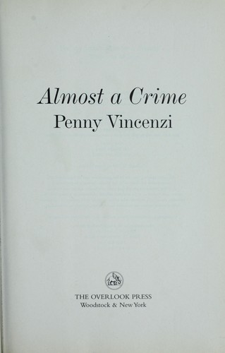 Download Almost a crime