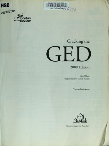 Download Cracking the GED