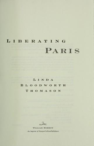 Download Liberating Paris