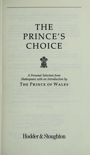 Download The prince's choice