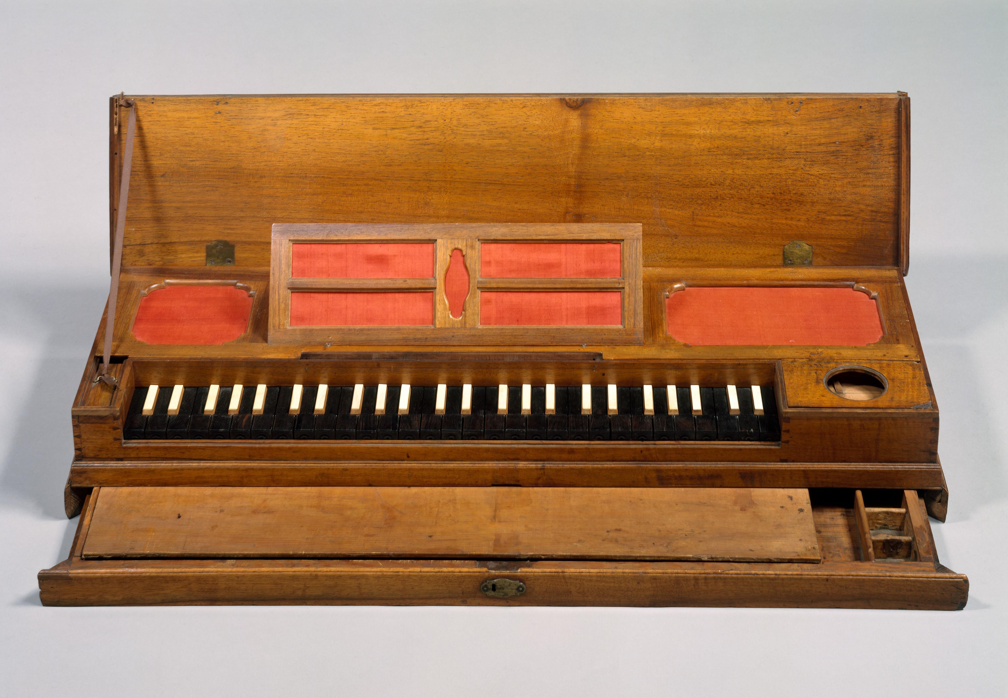 Clavichord zur Zeit Johann Sebastian Bach