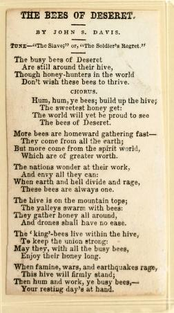 The Bees of Deseret (1852)