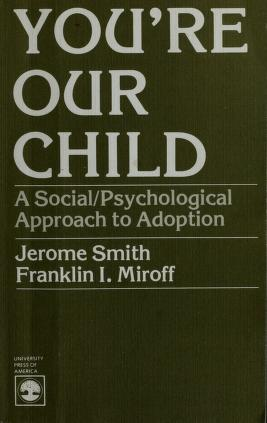 Cover of: You're our child | Jerome Smith