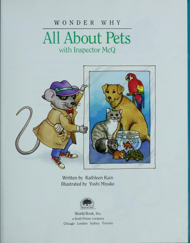 All about pets by Kathleen Kain